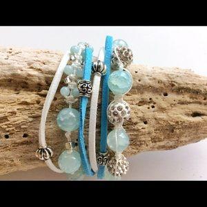 Jewelry - Beaded Wrap Bracelet